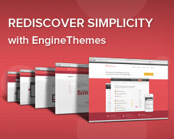 EngineThemes - Rediscover Simplicity